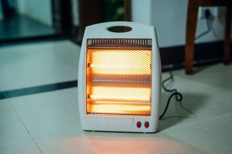 Electric Space Heater   Safety Tips   Home Heating