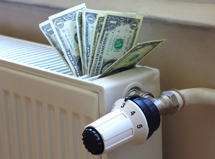 Money in Radiator | Heating Costs | Heating Repair