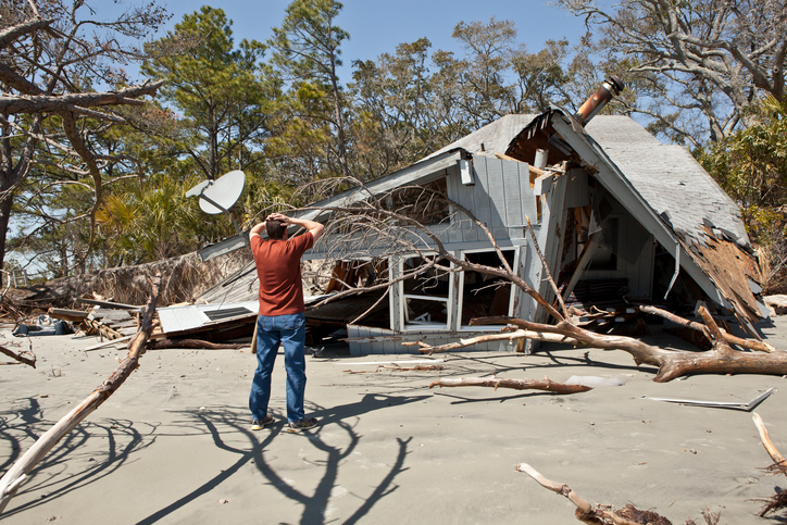 storm damage- HVAC repair