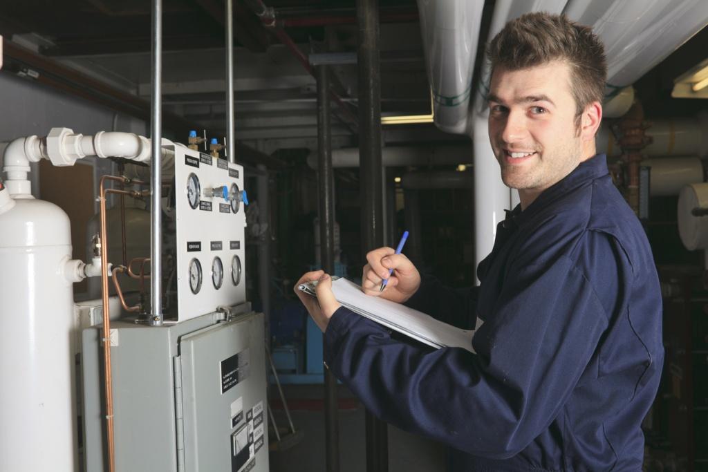 Boiler Room - Furnace Inspection