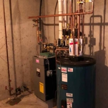Boiler-and-Indirect,-Burnham-Alpine-Propane-Boiler-ALP150-and-a-Burnham-Alpine-50-Gallon-Indirect-Water-Heater-Installed-in-Guilford,-CT