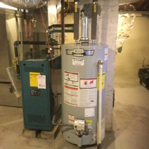 Burnham-X204-Gas-Boiler-and-AO-Smith-40-Gallon-Gas-Water-Heater-Installed-in-Bridgeport,-CT